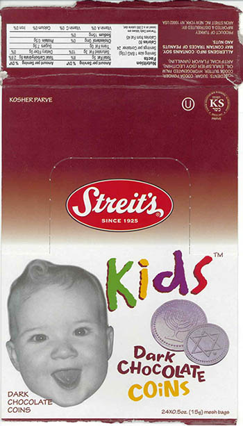 "Aron Streit, Inc. Issues Allergy Alert On Undeclared Milk Allergens In ""Streit's Dark Chocolate Coins"""
