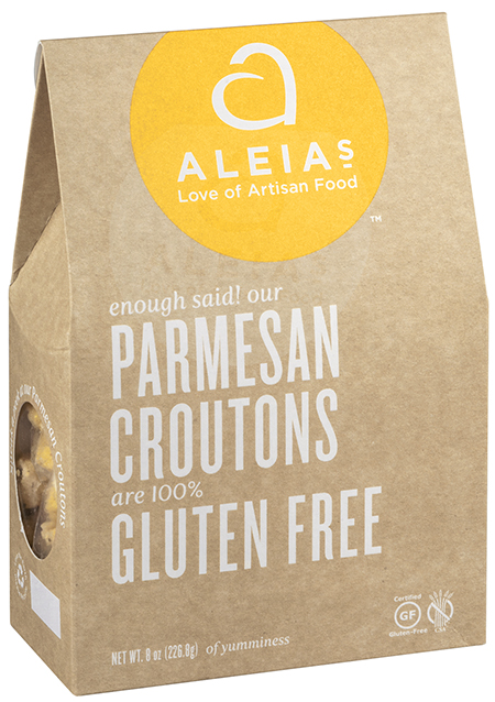 Aleias Gluten Free Foods, LLC Issues Allergy Alert on Undeclared Peanut Protein in Parmesan Croutons and Classic Croutons