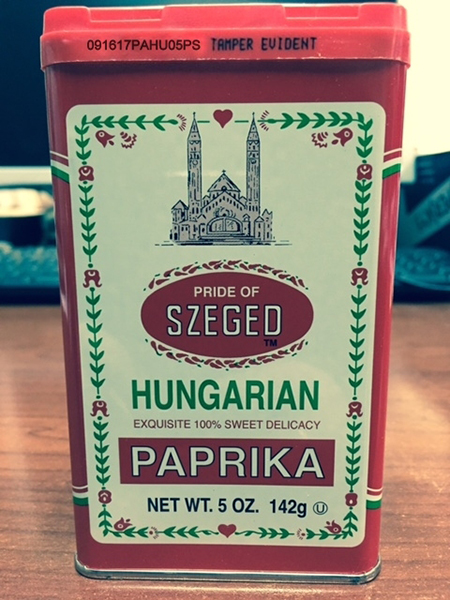 Spiceco Extends an Allergy Alert on Undeclared Peanut Allergen in 5 oz. Containers of Pride of Szeged Sweet Hungarian Paprika Lot # 091717PAHU05PS