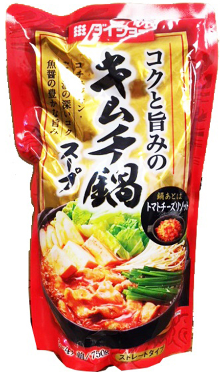 JFC International Inc. Issues Allergy Alert on Undeclared Crustacean Shellfish (Shrimp, Crab) in Daisho Kimchi Hot Pot Soup Base