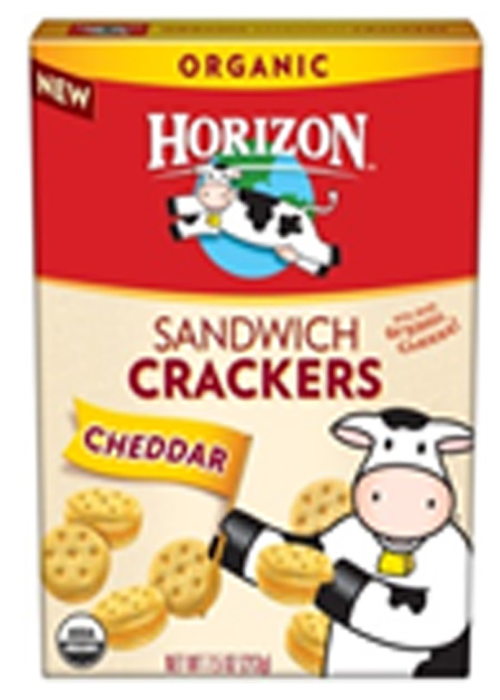 WhiteWave Foods Voluntarily Recalls Horizon Cheddar Sandwich Crackers Due to Undeclared Peanuts Company says some Horizon Cheddar Sandwich Cracker boxes may contain Peanut Butter Sandwich Crackers