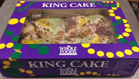 Allergy Alert Issued in Two Massachusetts Whole Foods Market Stores for Undeclared Pecans in King Cakes