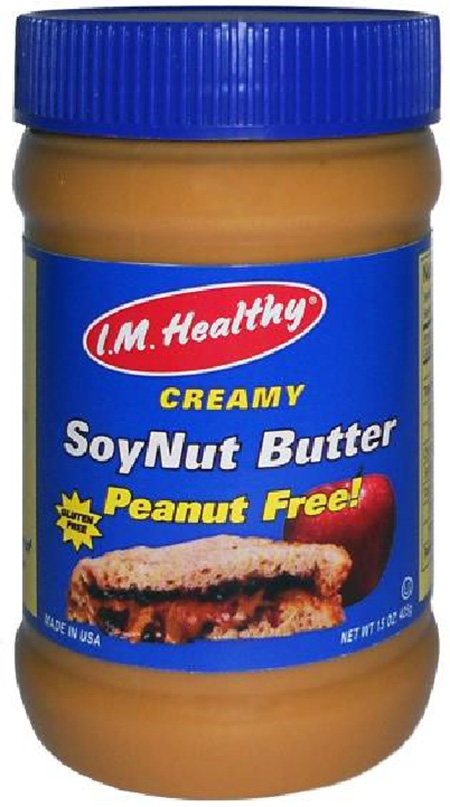 The Soynut Butter Co Expands Recall to All I.M. Healthy Soynut Butters And I.M. Healthy Granola Because of Possible Health Risk