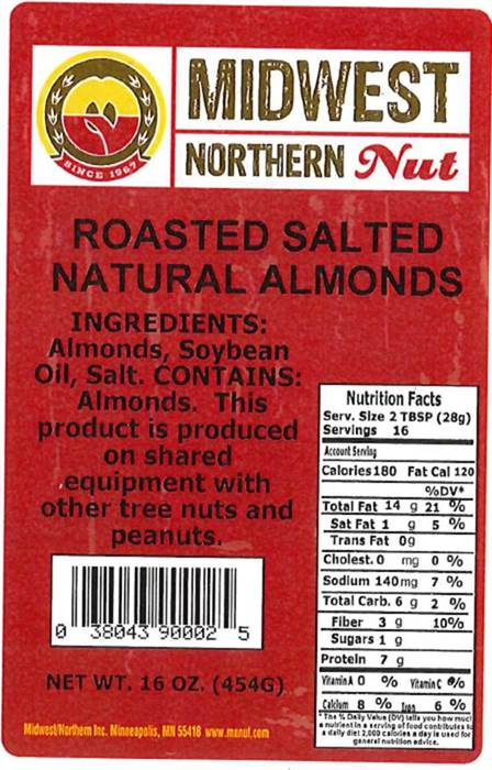 Midwest Northern Nut Issues Voluntary Allergy Alert On Various Undeclared Allergens In Their Nut And Seed Snack Products