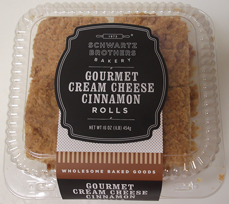 Schwartz Brothers Bakery Issues Allergy Alert on Undeclared Egg in Gourmet Cream Cheese Cinnamon Rolls