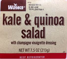Taylor Farms Florida Issues Allergen Alert on Undeclared Soy in Kale and Quinoa Salad