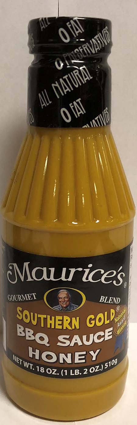 Piggie Park Enterprises Inc. Issues Allergy Alert on Undeclared Wheat and Soy in Maurice's Southern Gold Honey Sauce