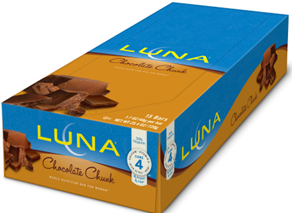 Macadamia Nut Allergy Alert and Voluntary Recall of 15-Count Boxes of Chocolate Chunk LUNA Bars Due to Package Mislabeling
