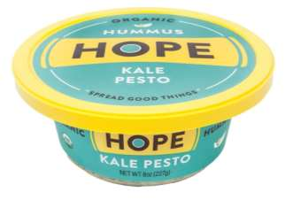 Hope Foods Issues Allergy Alert and Voluntary Recall on Undeclared Walnuts in Kale Pesto Hummus