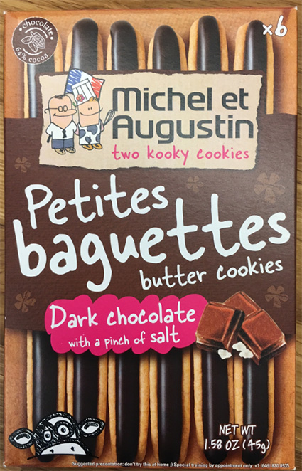 Michel Et Augustin Inc. Issues Allergy Alert on Undeclared Hazelnuts in Petites Baguettes Butter Cookies Dark Chocolate