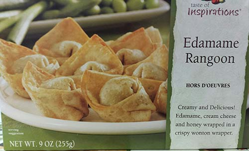 Progressive Gourment Inc. Issues an Allergy Alert on Taste of Inspirations Edamame Rangoon Due to Possible Mislabeling and Undeclared Crustacean Shellfish