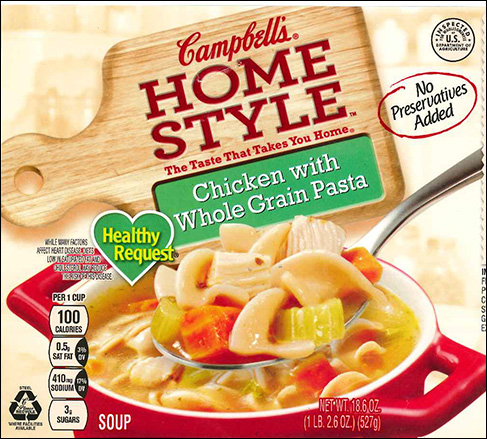 Campbell Soup Company Recalls Chicken Soup Products Due to Misbranding and Undeclared Allergens