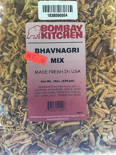 "Ethnic Foods Inc. Issues Allergy Alert on Undeclared Peanuts in ""Bhavnagri Mix"""