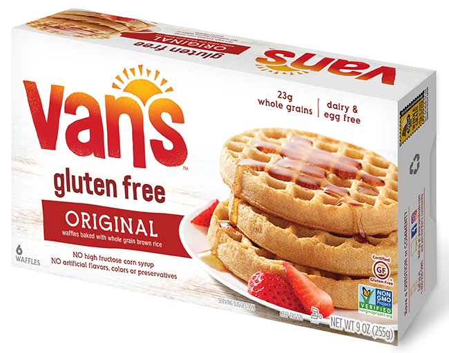 Van's Foods Voluntarily Recalls Gluten Free Waffles in Eleven States