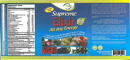"World's Choice Products, Inc. Issues Allergy Alert on Undeclared Milk And Soy Lecithin From Whey Protein in ""Supreme Elixir"", ""Kids Juice"" And ""Xtreme Fiber Detox"""