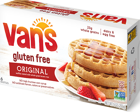 UPDATED: Van's Foods Voluntarily Recalls Gluten Free Waffles Due to Gluten, Undeclared Wheat & Undeclared Milk