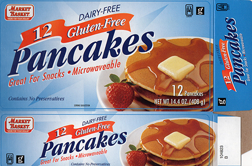 Middle East Bakery, Inc. Issues Allergy Alert on Undeclared Milk in Market Basket Dairy-free, Gluten-free Pancakes