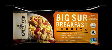 Sweet Earth Natural Foods Issues Voluntary Recall of Mispackaged Big Sur Burritos That Contain the Santa Cruz Burrito: Potential Allergy Concern for Those with Milk Allergy
