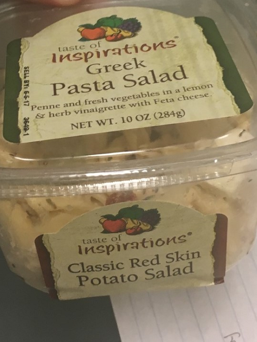 Hannaford Supermarkets Issues Allergy Alert on Undeclared Milk in Taste of Inspirations Greek Pasta Salad Net. Weight 10 oz. (284g)
