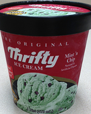 Rite Aid Voluntarily Recalls 16 oz. Pints of Mint N Chip Thrifty Ice Cream (Pistachios)