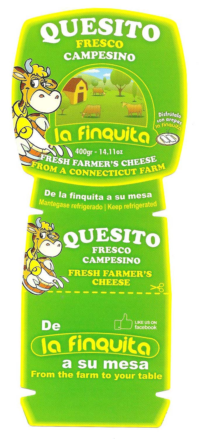 La Finquita Cheese Issues An Allergy Alert Due To Potential Peanut And Tree Nut Contamination In Fresh Farmers Cheese