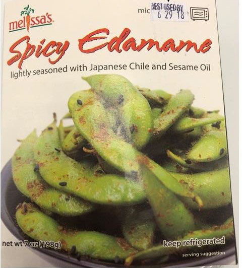 World Variety Produce, Inc. Voluntarily Recalls Spicy Edamame Because Of Undeclared Allergens