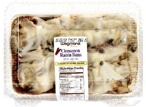 Wegmans Food Markets, Inc. Issues Allergy Alert on Undeclared Egg in Wegmans Cinnamon Raisin Buns, 12 oz.