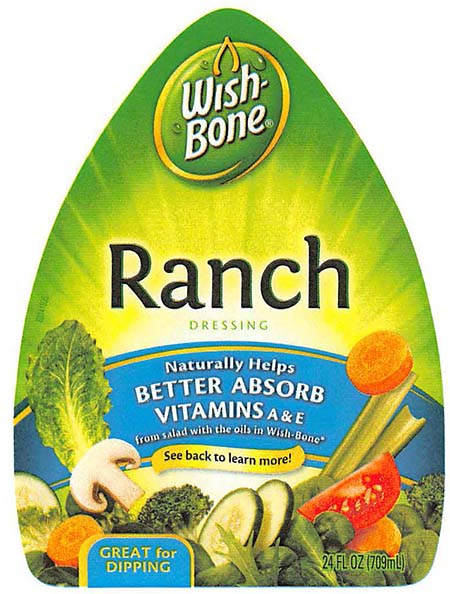 Wish-Bone Salad Dressing Issues Allergy Alert on Undeclared Egg in 24 oz. Wish-Bone Ranch Salad Dressing
