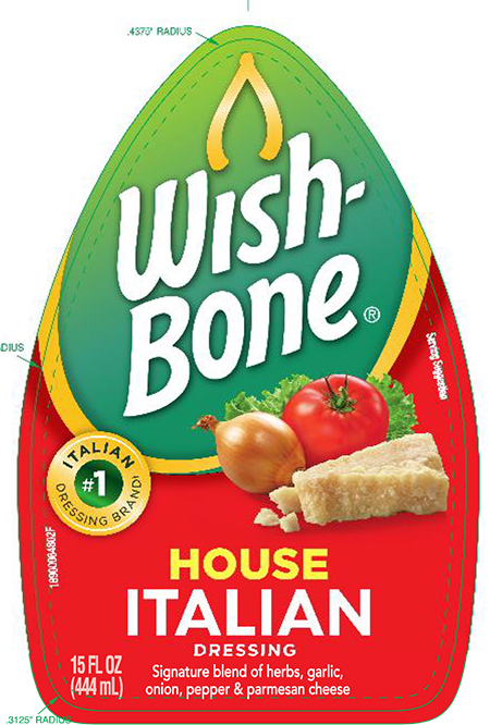 Wish Bone Salad Dressing Issues Allergy Alert On Undeclared Milk and Egg in 15 oz. Wish-Bone House Italian Salad Dressing
