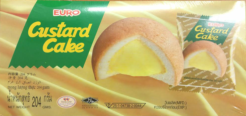 Eastland Food Corp. Issues Allergy Alert on Undeclared Milk in Euro Custard Cakes