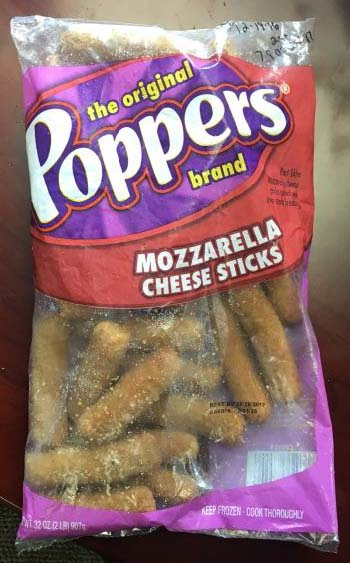 Monogram Appetizers Issues Allergy Alert On Undeclared (Egg) In Poppers Brand Mozzarella Cheese Sticks