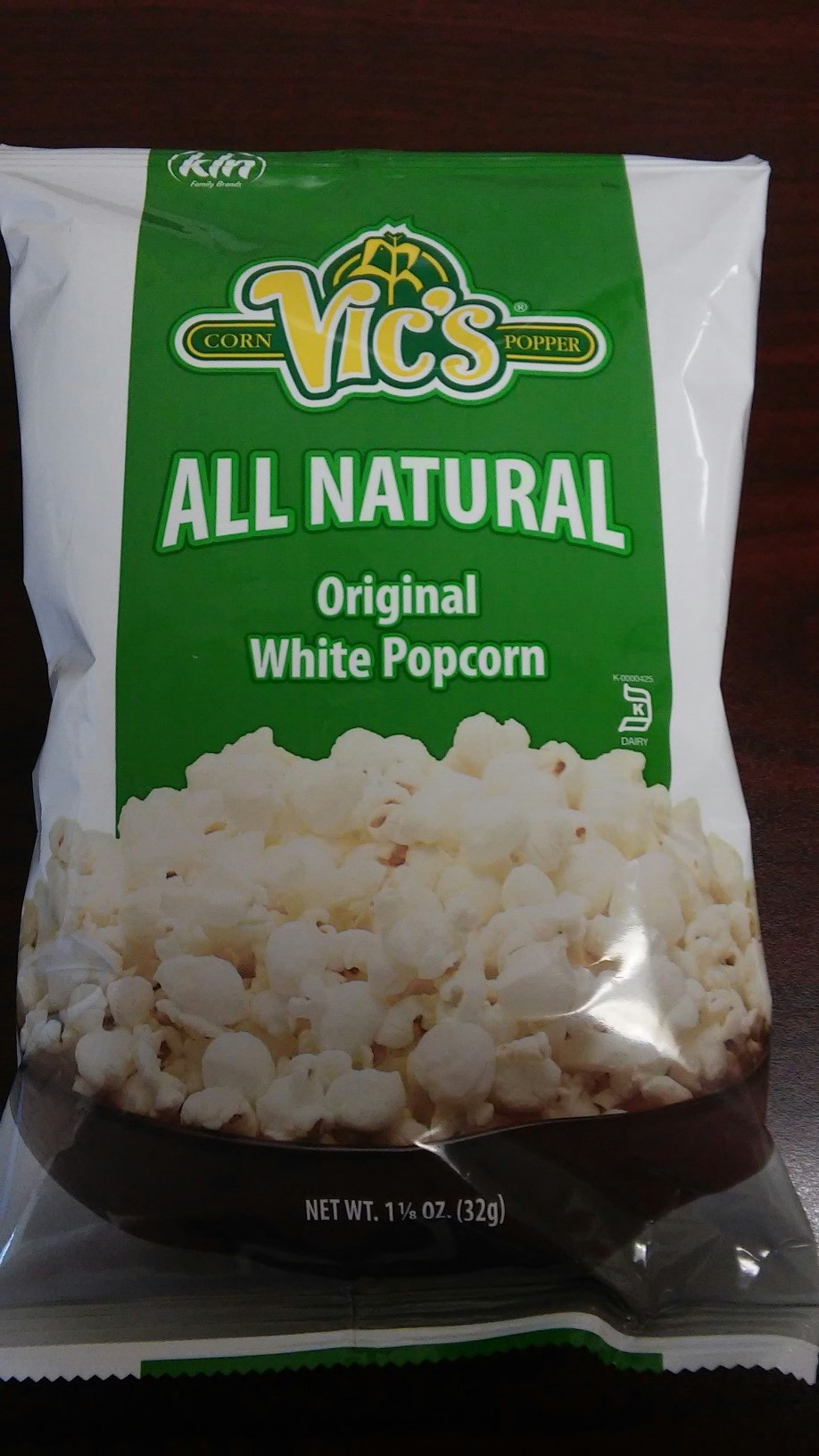 Barrel O' Fun Snack Foods Co. Issues Allergy Alert On Undeclared Milk In Vic's Original Popcorn (1-1/8oz)