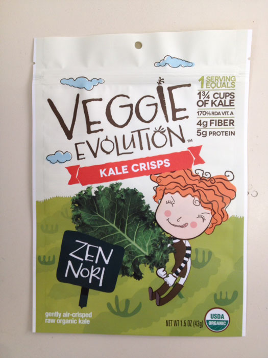 Updated Press Release - It Takes A Village Foods LLC. Dba Veggie Evolution Issues An Allergy Alert On Undeclared Soy In Veggie Evolution Kale Crisps Zen Nori