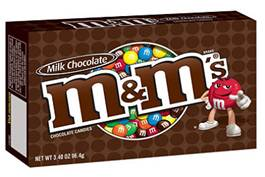 Mars Chocolate North America Issues Allergy Alert Voluntary Recall On Undeclared Peanut Butter In M&Ms® Brand Milk Chocolate Theater Box