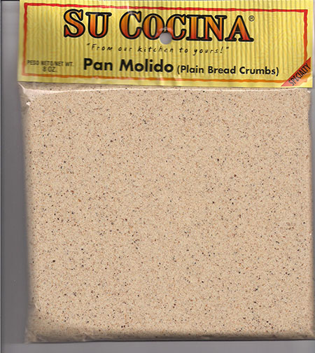 Dominguez Foods of Washington Inc. Issues Allergy Alert on Undeclared Wheat, Whey (Milk), and Soy in Su Cocina Label, Pan Molido (Plain Bread Crumbs)