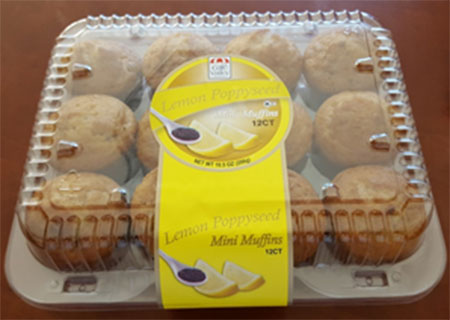 Café Valley Inc. Issues Allergy Alert on Undeclared (Walnuts) In 12ct Banana Nut Mini Muffins Labeled as 12ct Lemon Poppy Seed Mini Muffins
