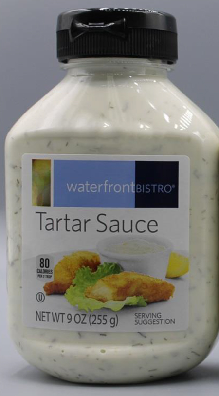 For Immediate Release: Silver Spring Foods, Inc. Voluntarily Recalling Waterfront Bistro Tartar Sauce Due To Possible Mislabeling and Undeclared Allergen (Egg)