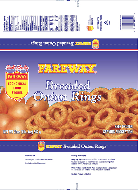 Updated Recall Information: McCain Foods USA, Inc. Issues Expanded Allergy Alert on Undeclared Milk in Frozen Onion Rings Sold and Distributed Under Private Label Retailer Brands