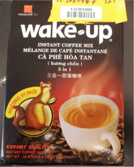 Hong Lee Trading Inc. Issues Allergen Alert On Undeclared Milk Allergens In Vina Café Wake-Up Instant Coffee