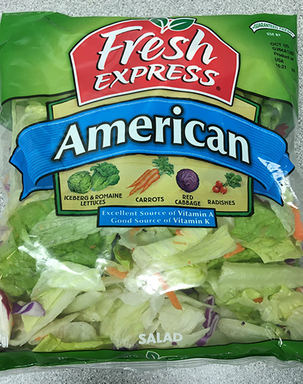 Fresh Express Announces Precautionary Recall of a Limited Quantity of 11 oz. American Salad due to Possible Allergen Exposure