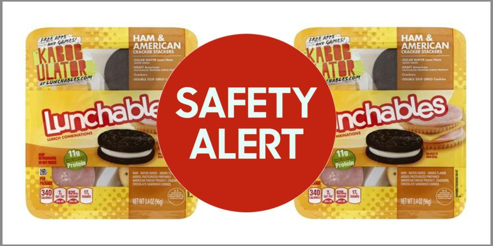 Kraft Heinz Recalls Ready-To-Eat Lunchables Ham and American Cracker Stackers Product Due to Misbranding and Undeclared Allergens (Wheat, Soy)