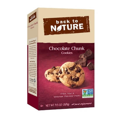 Back to Nature Issues a Product Recall and Allergy Alert for Chocolate Chunk Cookies, Mini Chocolate Chunk Cookies and Chocolate Granola Due to Undeclared Milk