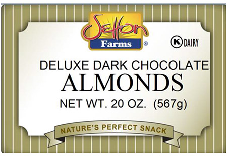 Setton International Foods Issues Allergy Alert for Undeclared Milk in Select Dark Chocolate Almonds and Dark Chocolate Raisins Products Received from our Supplier GKI Foods LLC