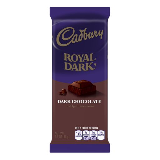 Label Change for The Hershey Company Cadbury Royal Dark Chocolate to Include Peanut