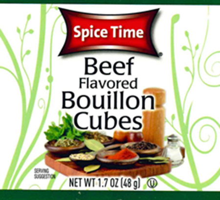 Gel Spice Company, Inc. Issues Allergy Alert On Undeclared Soy And Wheat In Beef Flavored Bouillon Cube Products.