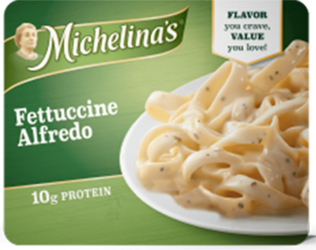 Bellisio Foods, Inc. Issues Allergy Alert Regarding Certain Michelina's Fettuccine Alfredo Packages Due to Potential Presence of Undeclared Soy