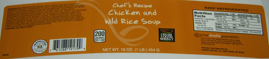 North Carolina Firm Recalls Canned Soup Products Due to Misbranding and Undeclared Allergens