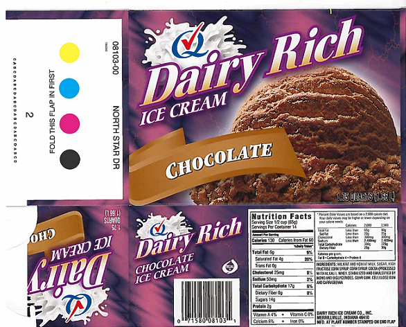 Ice Cream Specialties Issues Allergy Alert On Undeclared Peanut Allergen In Dairy Rich Chocolate Ice Cream