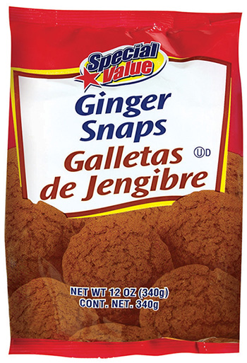 "UPDATE: Unified Grocers, Inc. Issues Allergy Alert on Undeclared Eggs in ""Special Value Ginger Snap Cookies"""