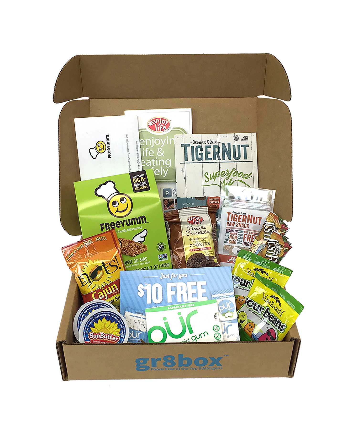 Have You Heard of gr8box, Foods Free of the Top Eight Allergens